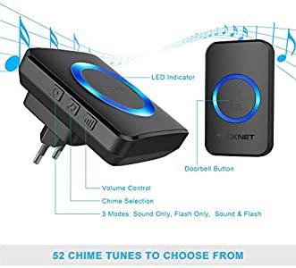 TECKNET Campanello Wireless - Valida alternativa al citofono